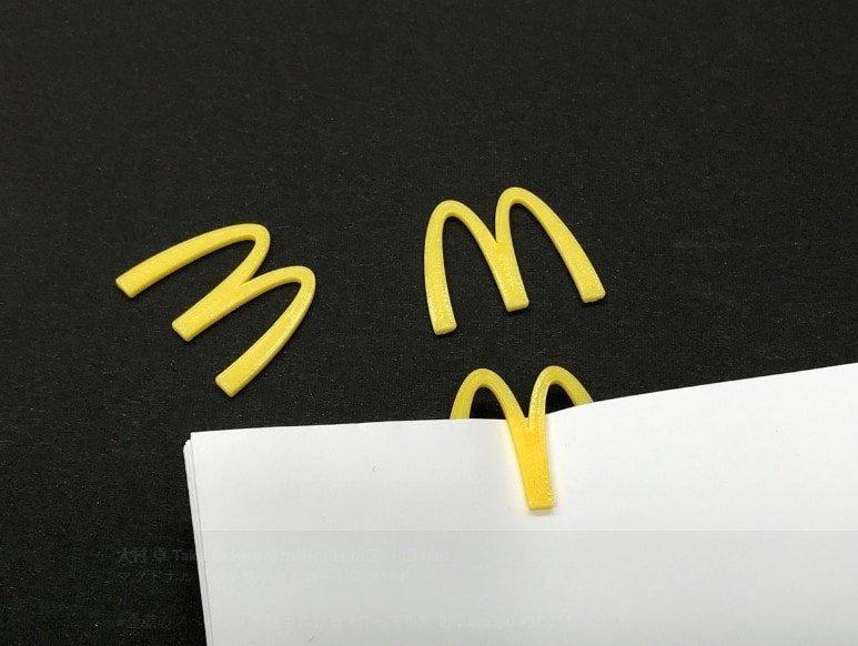 3. McDonald's бытовые предметы, дизайнер, идея, креатив, логотип, фантазия