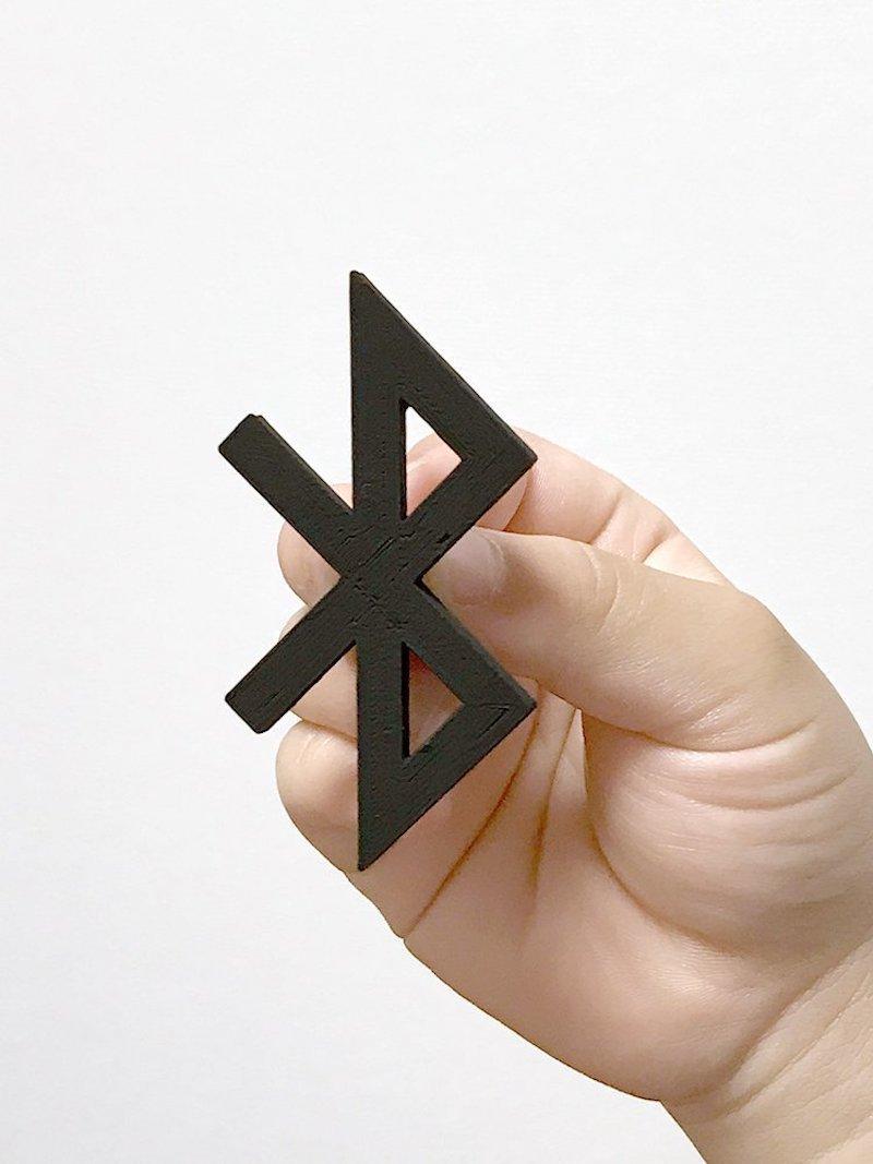 7. Bluetooth бытовые предметы, дизайнер, идея, креатив, логотип, фантазия