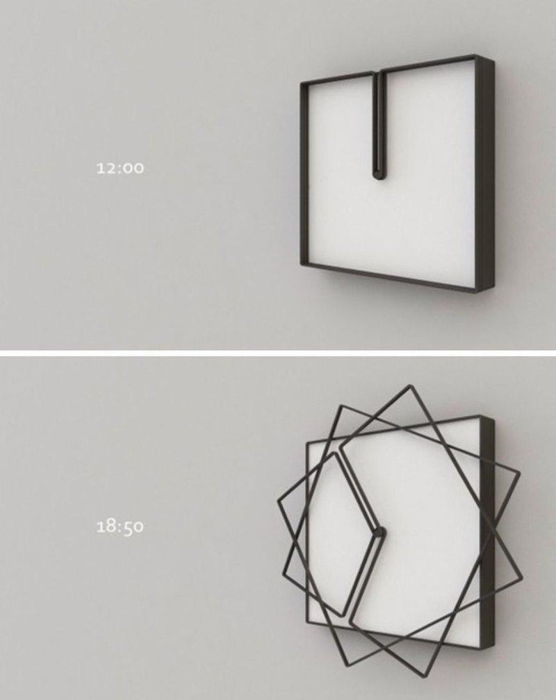5. Минималистичные часы восхищение, гениально, дизайнер, идея, креатив, проект, фантазия