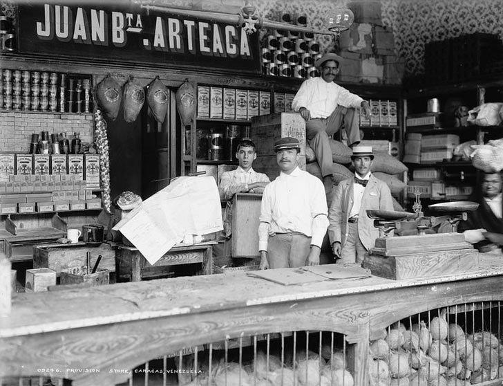 Венесуэла, 1900  в мире, время, люди, магазин, ностальгия, прошлое