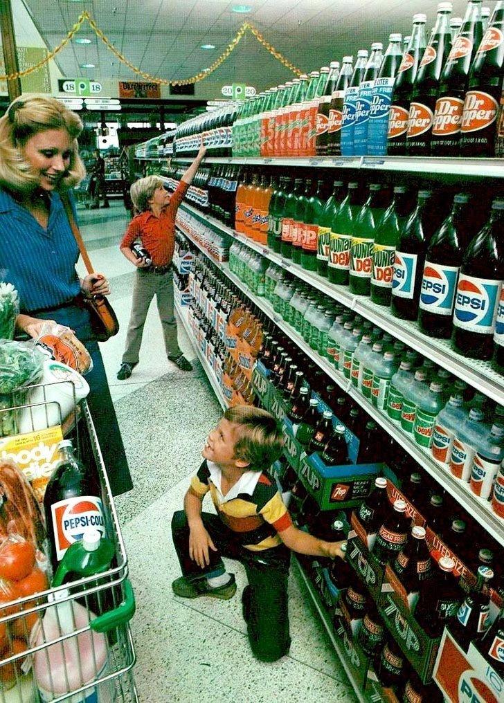 США, 1980-е в мире, время, люди, магазин, ностальгия, прошлое