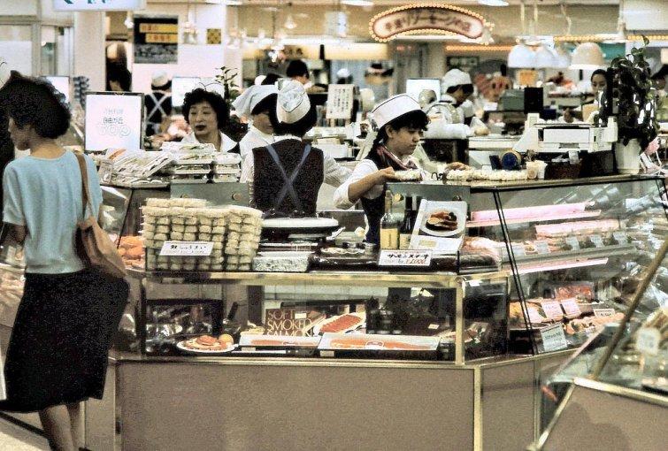 Токио, 1985 в мире, время, люди, магазин, ностальгия, прошлое