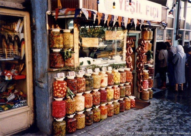Турция, 1985 в мире, время, люди, магазин, ностальгия, прошлое