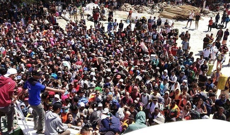 На Бали ощущались толчки, но обошлось без серьезных разрушений Гили, землетрясение, индонезия, ломбок, мир, остров, эвакуация
