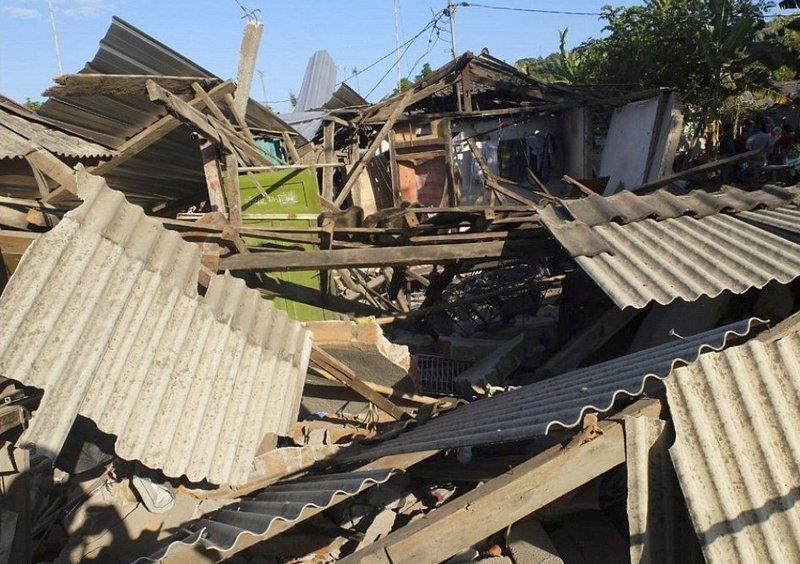 Так сейчас выглядит Северный Ломбок Гили, землетрясение, индонезия, ломбок, мир, остров, эвакуация
