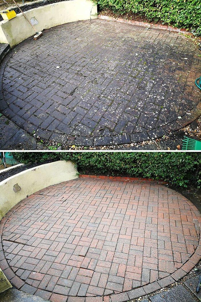 Отмыли задний двор все сверкает, до и после, мойка, на уборку становись, результаты уборки, уборка, чистка, чистота залог здоровья