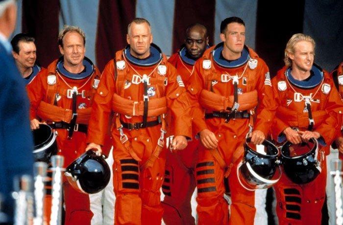 """1. """"Армагеддон"""" (1998) дыра, известные фильмы, интересно, кино, недочеты, познавательно, про кино, сюжет"""