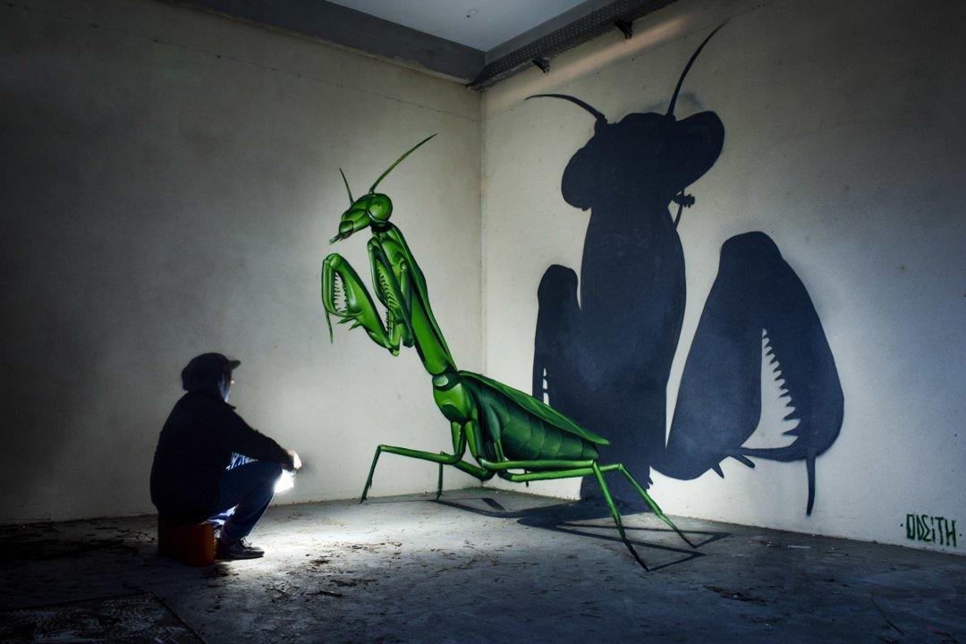объемные картинки насекомых способов вставить картинку