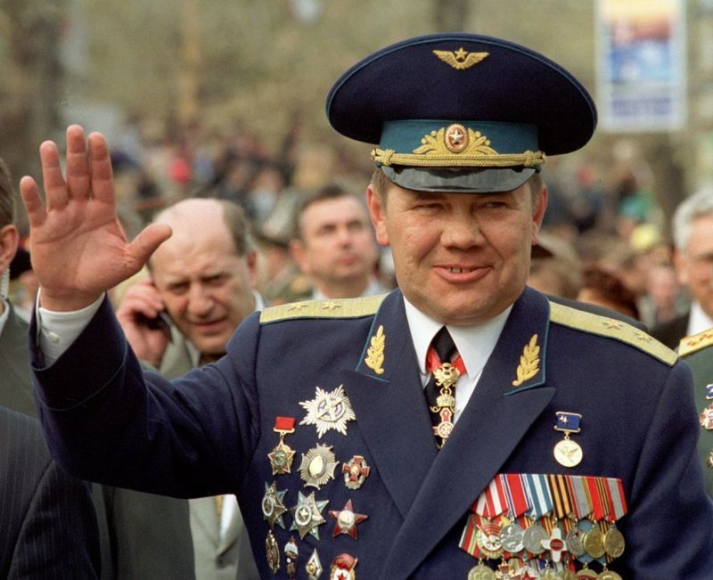 Отдал команду «жахнуть» Генерал Александр Лебедь, война, история, чечня