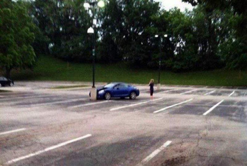 Вижу цель, не вижу препятствий автомобили, прикол, фейлы, юмор