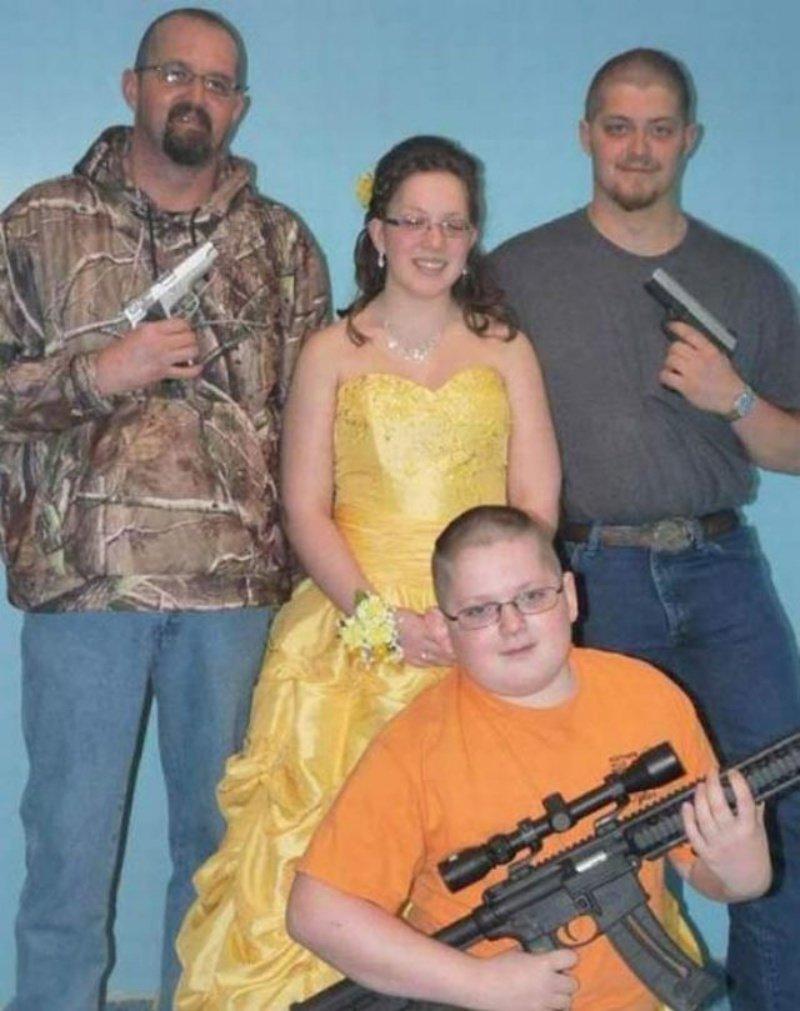 Кладезь идиотизма: семейные фото американцев 1980-х годов Семейные фото, американцы, прикол, юмор