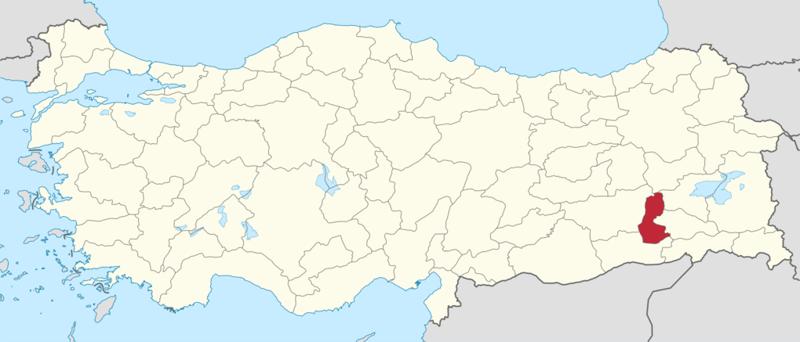 На этой карте Турции провинция выделена красным. Пока не слишком похоже на фирменный знак Бэтмена, не так ли? бэтмен, в мире, люди, петиция, провинция, символ, турция