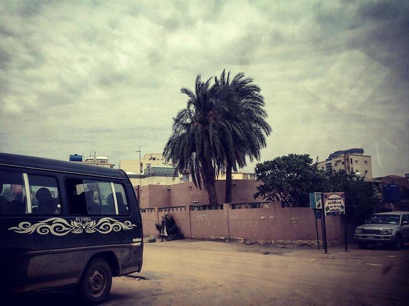 В городе очень пыльно и грязно агломерация, африка, северная африка, столица Судана, столицы мира, судан, хартум