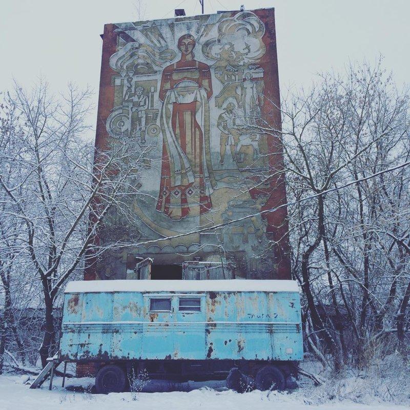 3. Мозаика и настенные украшения были очень популярны СССР, наследие СССР, наследие прошлого, ностальгия, отголоски, фото