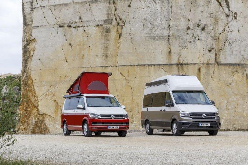 Grand California: новый двухэтажный дом на колесах от Volkswagen Volkswagen Crafter, Volkswagen Grand California, volkswagen, авто, автомобили, дом на колесах, кемпер