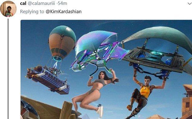 Прыжок с парашютом Канье Уэст, Ким  Кардашьян, мемы и фотожабы, поза, соцсети, соцсети жгут, юмор
