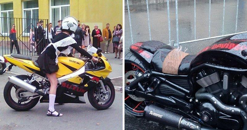 Нетипичные проблемы мотоциклистов, которыми не принято делиться байкеры, байки, мотофишки, мотоцикл, мотоциклы, на дороге, прикол, юмор