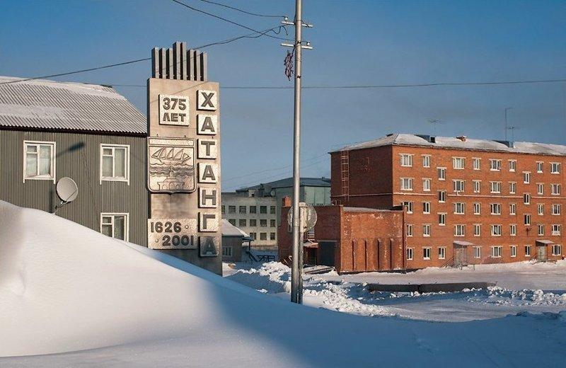 4. Хатанга Города России, за полярным кругом, как живут люди, край вечных льдов, самые северные поселения страны