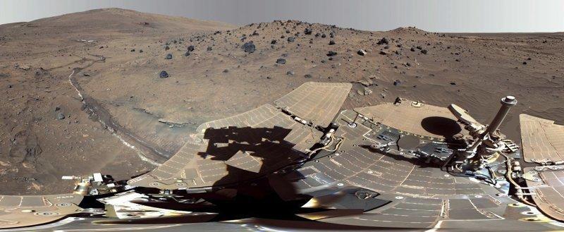 Как выглядит поверхность Марса без фотошопа? curiosity, марс, фото
