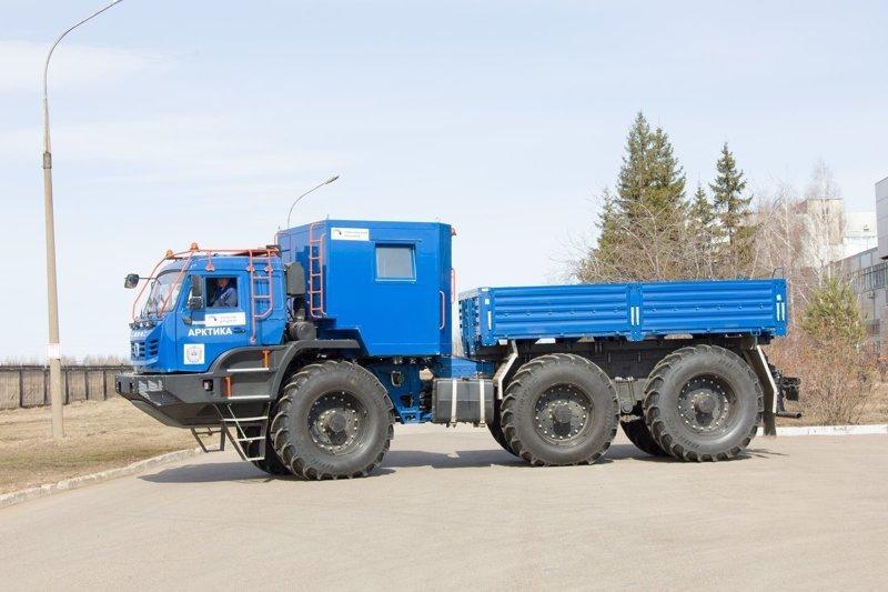 Всё, что вам нужно знать о новом вездеходе КАМАЗ-Арктика КАМАЗ-Арктика, арктика, вездеход, камаз, российский автопром, сделано в россии, спецтехника