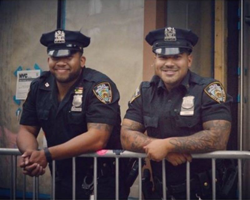 Татуированные полицейские в Америке америка, американская полиция, полиция, сша, татуированные полицейские