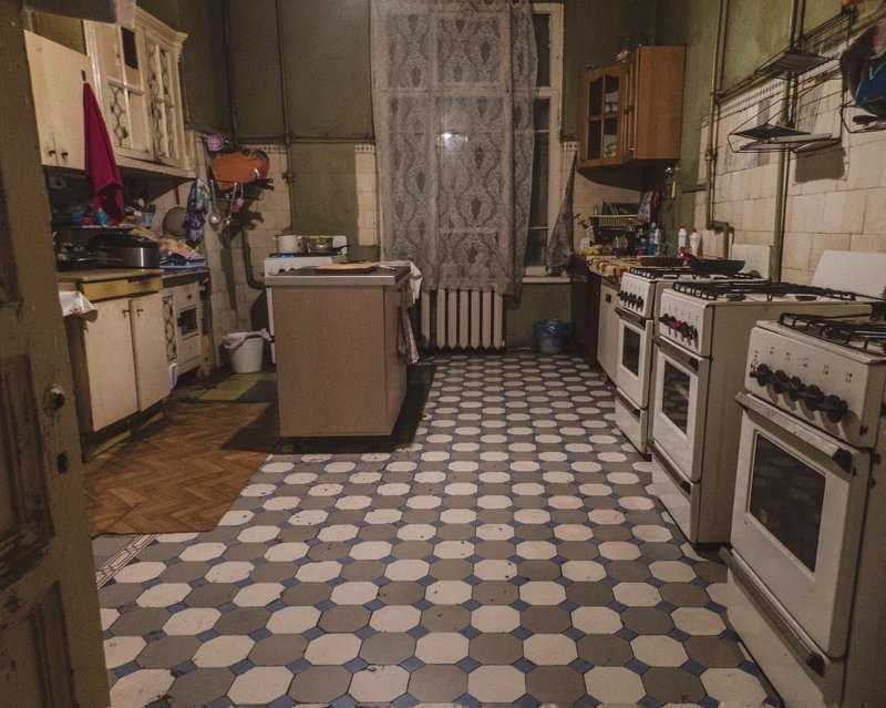 Эссенция русской коммунальной жизни Судьбы, интересное, история, квартиры, коммуналки, фотомир