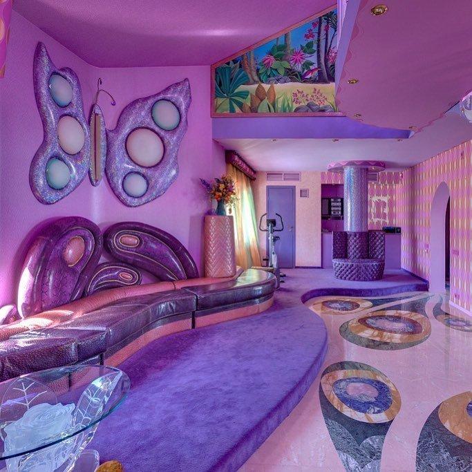 Волосатая лестница, розовая комната и другие необычные интерьеры Instagram, decorhardcore, дизайн, интерьер, креатив, фантазия