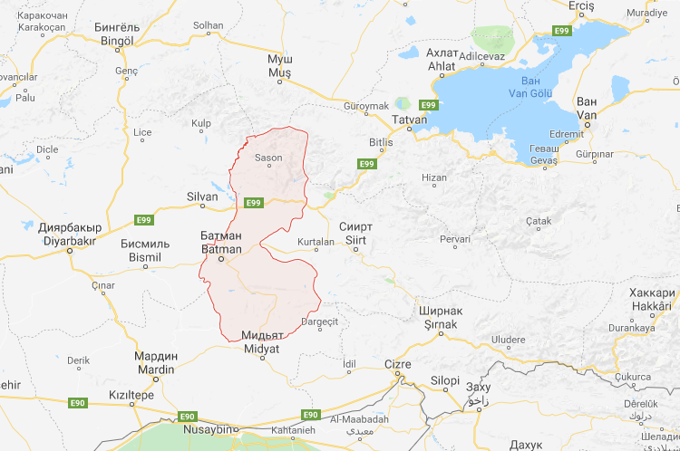 На карте Турции может появиться знак Бэтмана и город Готэм batman, ynews, бэтман, город, мышь, петиция, турция, чушь
