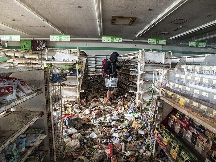 Зона отчуждения АЭС Фукусима-1, Япония  запрет, место, мир, посещение, путешествия, тайна, фото