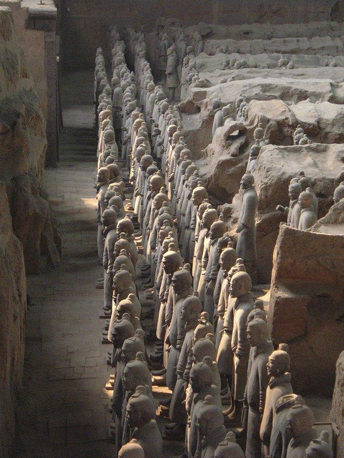 Гробница первого императора династии Цинь, Китай  запрет, место, мир, посещение, путешествия, тайна, фото