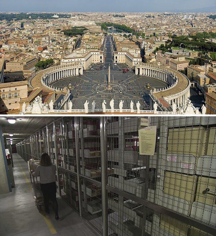 Ватиканский секретный архив, Ватикан  запрет, место, мир, посещение, путешествия, тайна, фото