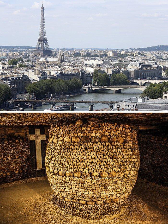 Катакомбы Парижа запрет, место, мир, посещение, путешествия, тайна, фото