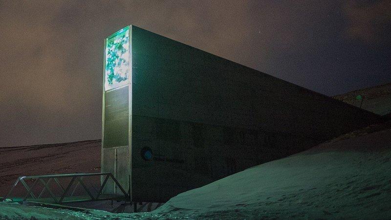 Всемирное семенохранилище, Норвегия  запрет, место, мир, посещение, путешествия, тайна, фото