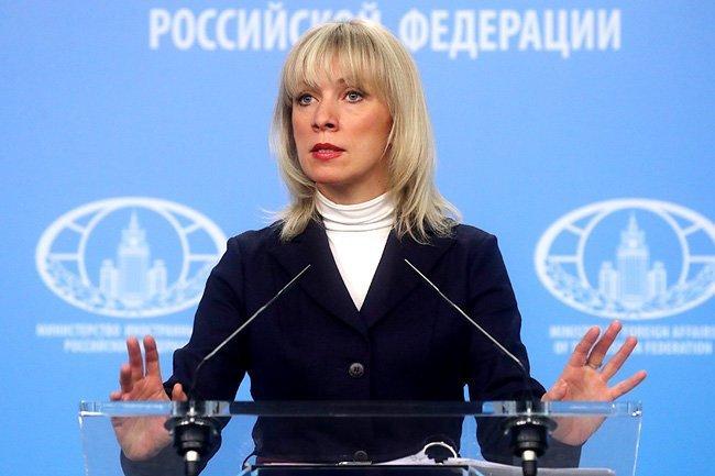 Мария Захарова Скрипаль, вашингтон, мид, москва, санкции, сша