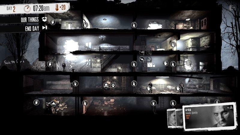This War of Mine (2014) выходные, залипалово, игры, сложные игры