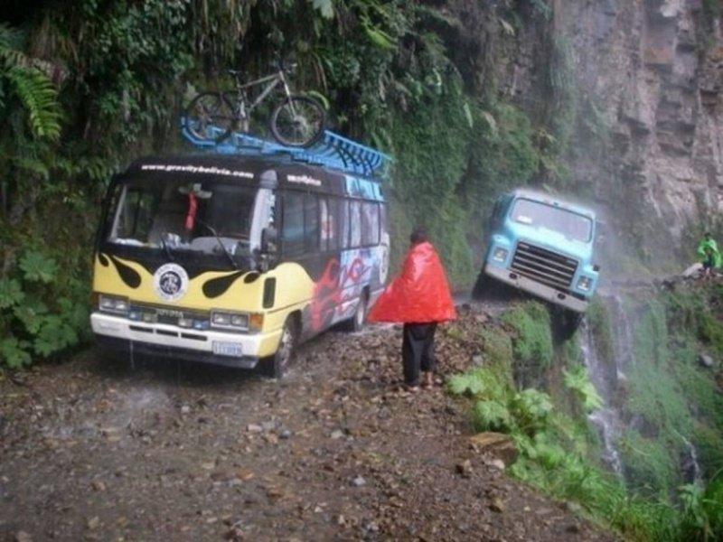 Похоже кое-кто переоценил своё водительское мастерство неудачный день, плохой день, прикол, юмор
