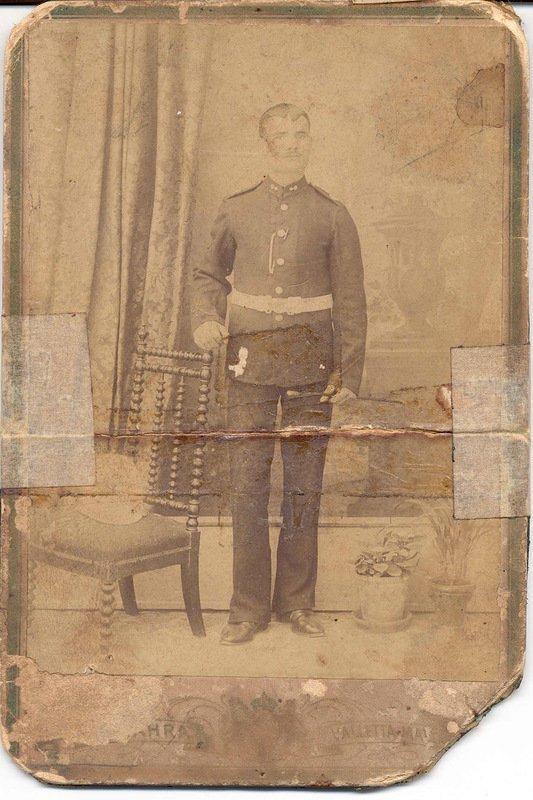 Мальтийский полицейский . Мальта, 1890-е гг. военное, жандармы, исторические фото, милиция, полиция, факты
