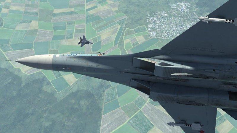 Воздушный «бой» F-15 и Су-27 история, самолеты, соперничество, факты