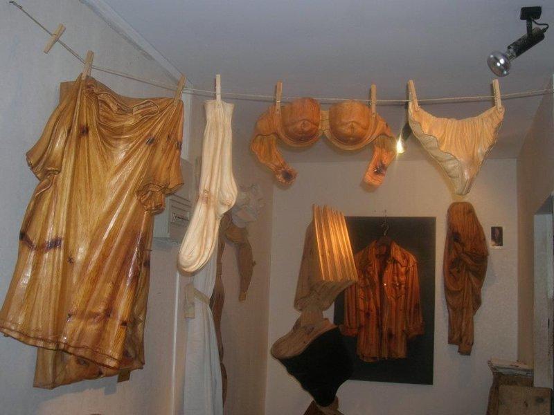 Лорис Марацци Скульптуры, дерево, интересное, искусство, красота, резьба, талант