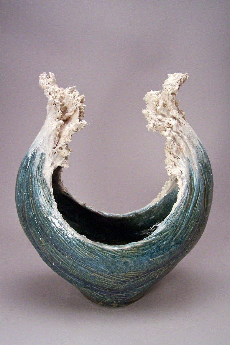 Волны искусство, керамика, море, океан, талант