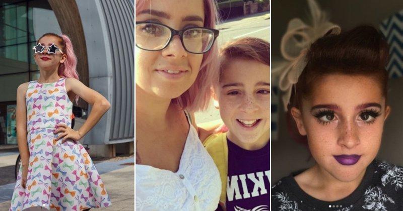 Пенис платьям не помеха: 11-летний британец объяснил, зачем ему перевоплощаться в девушку ynews, воспитание, дети, переодевание, толерантность, трансвиститы