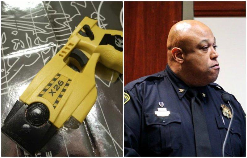 Американский полицейский ударил 11-летнюю девочку электрошокером ynews, дети, инциденты, криминал, новости, полиция, сша, электрошокер