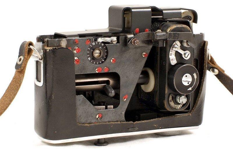 Советская шпионская фотокамера, замаскированная под фотокамеру, запутала аукционистов аукцион, замаскированная, фотокамера, шпион