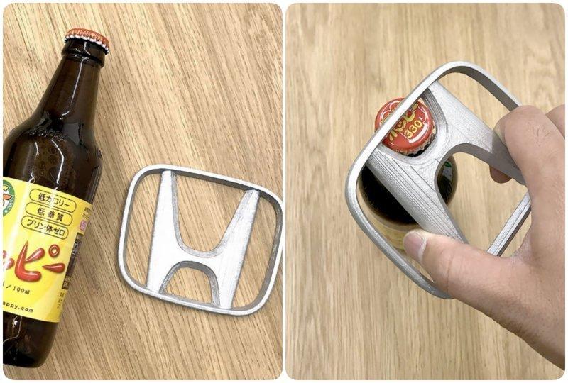 1. Автолюбители на Honda много не знают о возможностях значка на своем авто 3D модели, бренды, дизайнер, интересно, красиво, логотипы, фото, япония