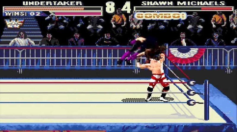 WWF WrestleMania: The Arcade Game, 1995