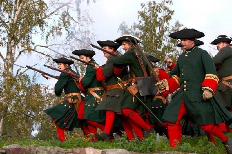 Петровские солдаты картинки