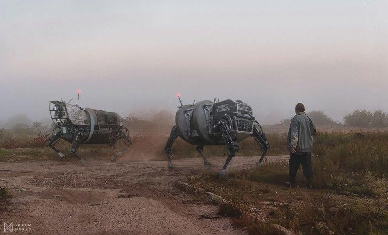Россия 2077 будущее, кибертехнологии, россия