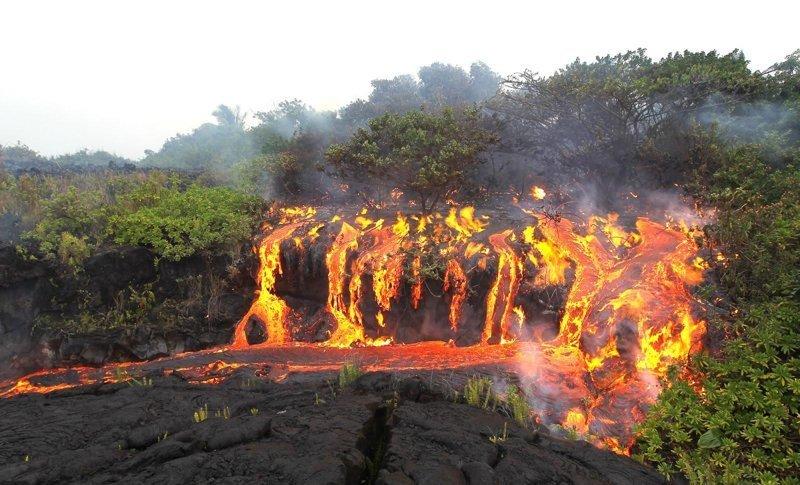 44. Огненный водопад животные, мир, подборка, природа, ужас, фото, явление
