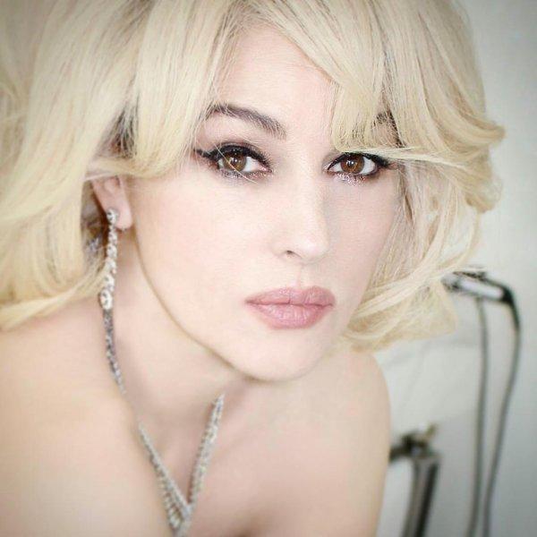 Моника Беллуччи примерила образ блондинки (12 фото)