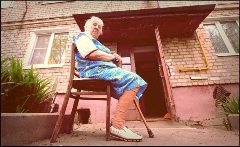 Противная бабка (1 фото)